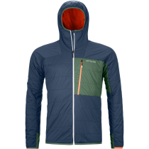 Buy Swisswool Piz Duan Jacket M Blue Lake
