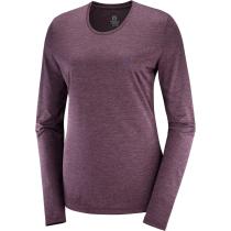 Acquisto T Shirt Agile LS Tee W Mauve /Winetasti