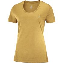 Buy T Shirt  Agile Ss Tee W Cumin/Heather/Br