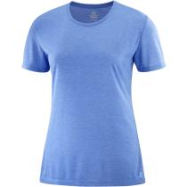 T-Shirt Comet Short Sleeve Tee W Marina/Heather