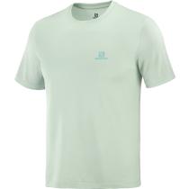 Achat T-Shirt Explore Tee M Harbor Grey/Opal Blue/Heather