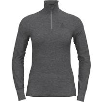 Acquisto T-Shirt ML 1/2 Zip Active Warm Eco Steel Grey Melange