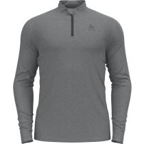 Achat T-Shirt ML 1/2 Zip Merino 260 Grey Melange
