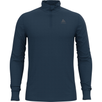Acquisto T-Shirt ML 1/2 ZIP Natural Blue Wing Teal