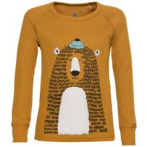 Buy T-shirt ML Active Warm Eco Kid Buckthorn Brown
