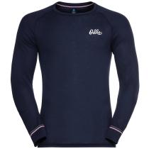 Achat T-shirt ML Active Warm Origina Dark Sapphire