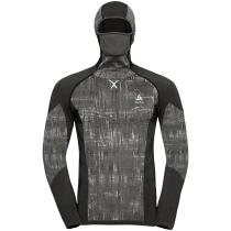 Achat T-shirt ML Capuche Blackcomb Black