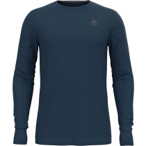 Acquisto T-Shirt ML Natural 100% Merino Blue Wing Teal