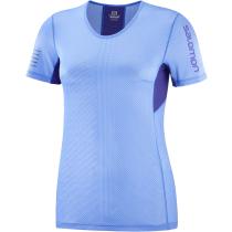 Achat T-Shirt S/Lab Sense Tee W Marina/Clematis Blue