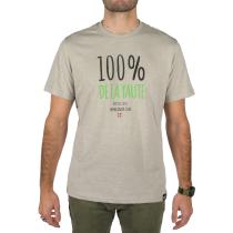 Achat T-Shirt 100% De La Yaute Gris Chiné