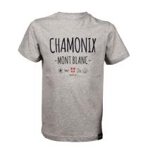 Achat T-Shirt Chamonix Light Grey Heather Junior