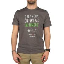 Buy T-Shirt Chez Nous On Farte Pas Au Rebloch' Anthracite Chiné