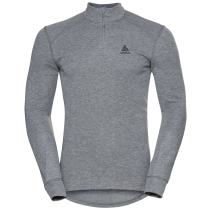 Buy T-Shirt ML 1/2 ZIP Active W Grey Melange