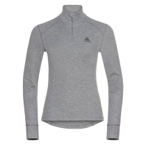 Kauf T-Shirt ML 1/2 ZIP Active W Grey Melange