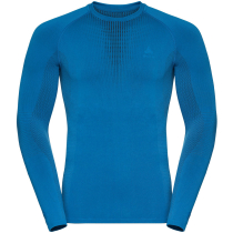 Acquisto T-Shirt ML Performance Warm Directoire Blue/Black