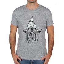 Achat T-shirt Rancho Coton Bio Slub Heather Blue