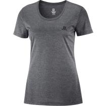 Buy T Shirt Agile SS Tee W Ebony/Black/Heather
