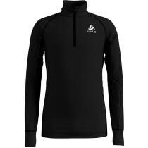 Buy T Shirt ML Warm 1/2 Zip Black