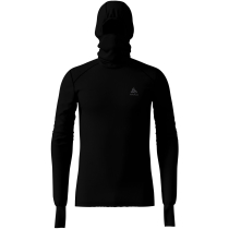 Achat T Shirt ML Warm Capuche Black