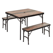 Buy Driftwood table + 2 benches