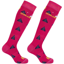 Kauf Team JR 2-Pack Socks Pink Yarrow/Sulphur Sprin
