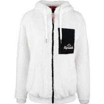 Acquisto Teddy Grethli fleece jacket hooded Snowwhite