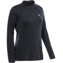 Achat Tee Shirt Col Zippé Easy Body 4 Femme Noir