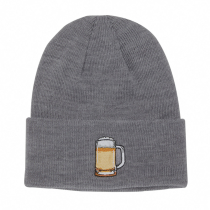 Buy The Crave Beanie Heather Grey Beer