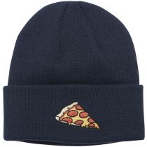 Buy The Crave Pizza Beanie Navy