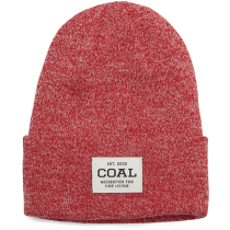 Buy The Uniform Beanie Red Marl