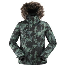 Achat The Rocks Print Jkt W Dark Green/Camo Print