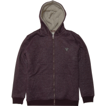 Buy The Trip Sherpa Zip Hoodie (Eu Style) Burgundy Heather