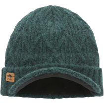 Achat The Yukon Brim Beanie Heather Forest Green