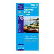 Achat Thonon-Evian-Lac Leman 3428ET