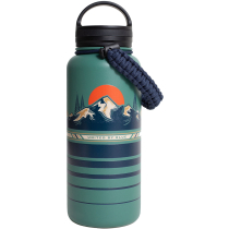 Compra To The Mountains 32Oz Stainless Steel Bottle Teal