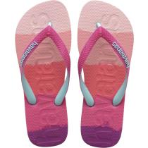 Buy Top Logomania Multicolor Gradient Pink Gum