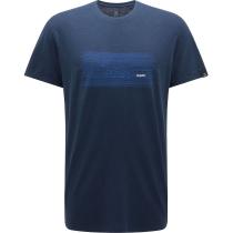 Buy TradTee Print MenTarn Blue