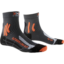Buy Trek Outdoor Low Cut Antracite/Orange