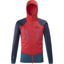 Kauf Trilogy Hybrid Alpha Hoodie M Indian/Rouge