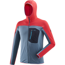 Kauf Trilogy Lightgrid Hoodie Indian/Rouge