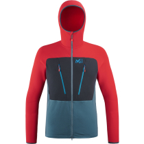 Kauf Trilogy Ultimate Woolpower Hoodie M Indian/Rouge