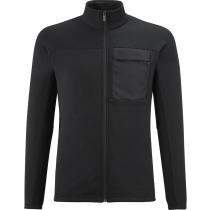 Buy Trilogy Wool Fleece Jacket M Black