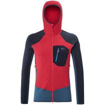 Achat Trilogy Dual Wool Hoodie Indian/Rouge