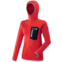 Achat Trilogy Lightgrid Hoodie W Red - Rouge