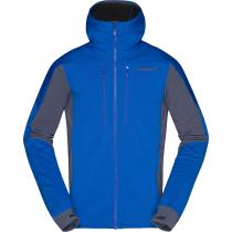 Buy Trollveggen Powerstretch Pro Zip Hood M'S Olympian Blue