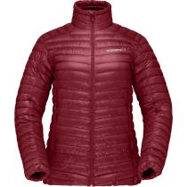 Buy Trollveggen Superlight Down850 Jacket W Rhubarb