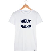 Acquisto Tshirt Alex Vieux Machin White