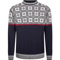 Achat Tyssoy Unisex Sweater Bleu Marine/Blanc