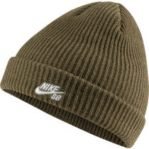 Achat U Nk Beanie Fisherman Medium Olive/White