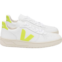 Kauf V-10 Leather Extra-White_Fluo-Gelb
